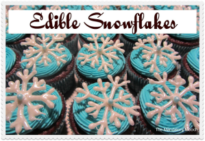 edible snowflakes