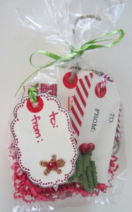 Holiday Gift Tags in Bag